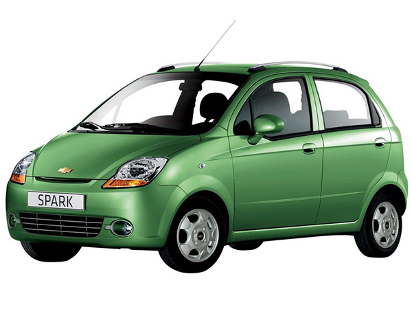 chevrolet spark budget category for rent