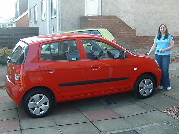 Kia Picanto car hire (car for me) from  Val & Kar Rent a car
