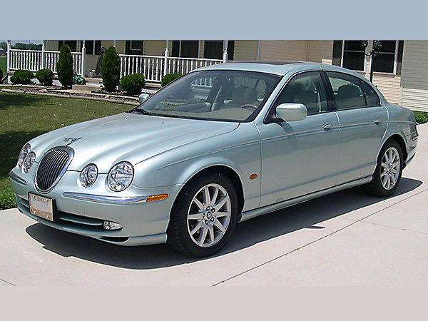 Jaguar S Type car hire (on the road) from  Val & Kar Rent a car