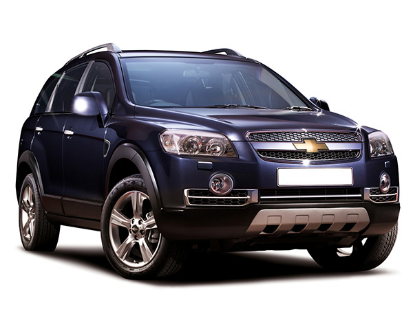 Chevrolet Captiva (4x4) car hire (base view) from  Val & Kar Rent a car