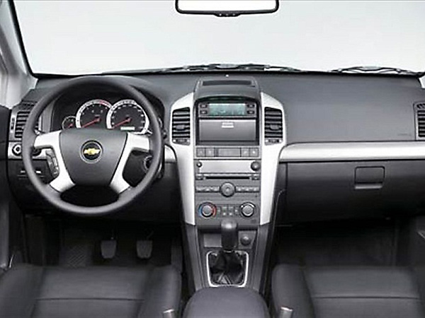 Chevrolet Captiva (4x4) car hire (navigation) from  Val & Kar Rent a car