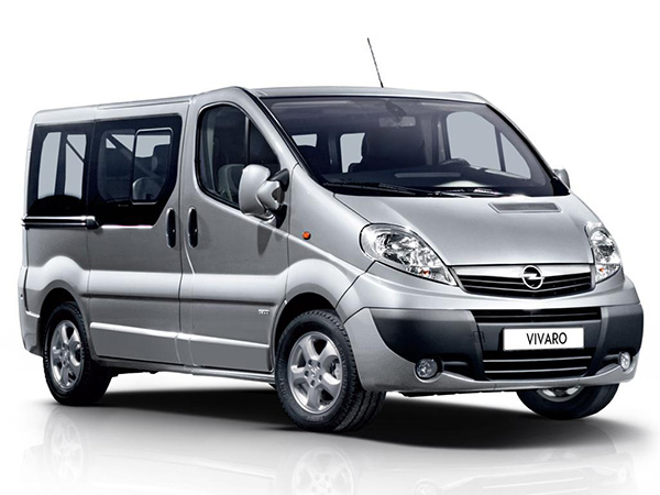 opel vivaro van category for rent