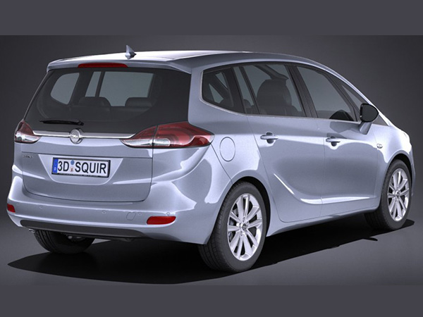 Opel Zafira car hire (back doors) from  Val & Kar Rent a car