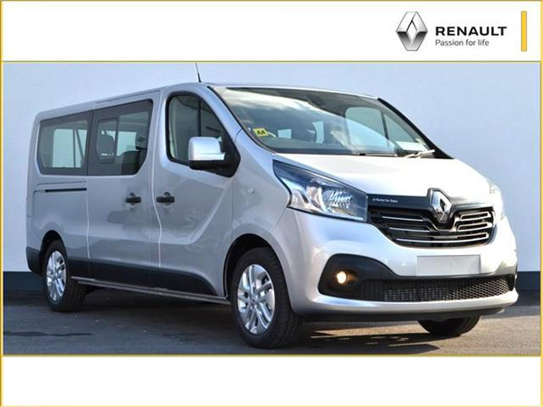 Renault Trafic van category for rent