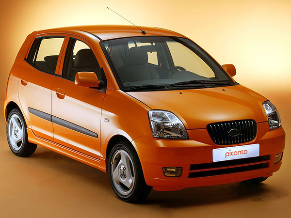 Kia Picanto car hire (base view) from  Val & Kar Rent a car