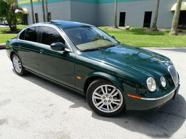 jaguar s-type executive category for rent