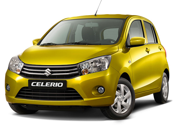 Suzuki Celerio car hire (front-size) from  Val & Kar Rent a car