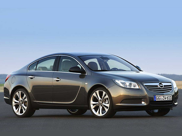 Opel Insignia car hire (base plan) from  Val & Kar Rent a car