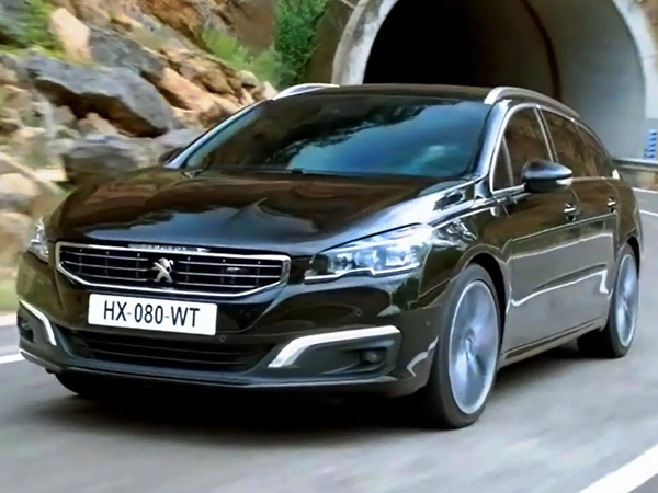Peugeot 508 car hire (control pult) from  Val & Kar Rent a car