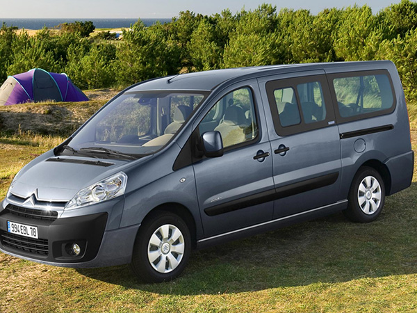 Citroen Jumpy (8+1) car hire (for camping) from  Val & Kar Rent a car