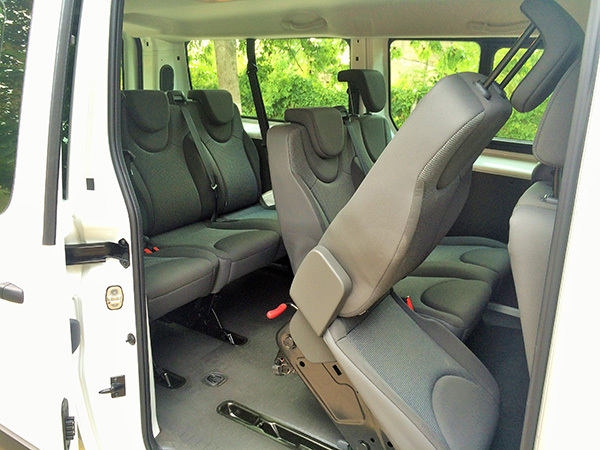 Citroen Jumpy (8+1) car hire (seats control) from  Val & Kar Rent a car