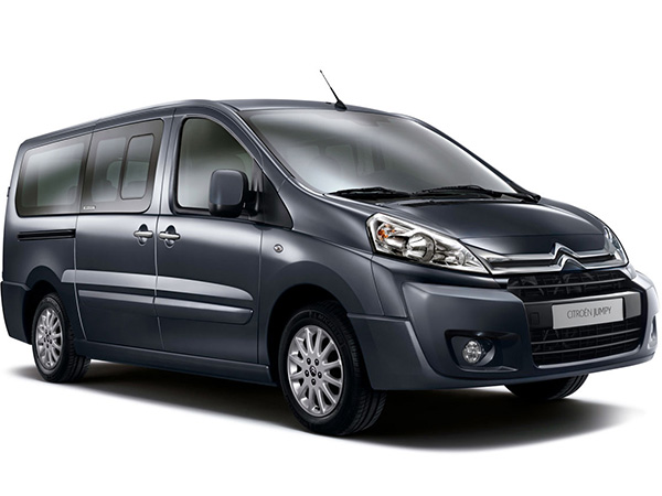 Citroen Jumpy (8+1) car hire (black) from  Val & Kar Rent a car