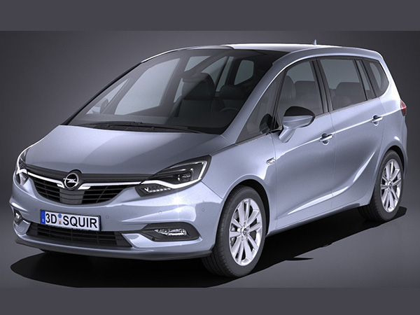 opel-zafira van category for rent