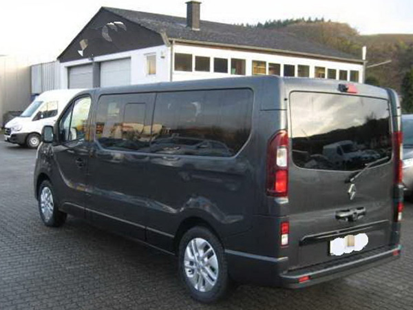 Renault Trafic (8+1) car hire (inside) from  Val & Kar Rent a car