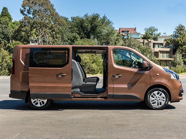 Renault Trafic (8+1) car hire (navigation) from  Val & Kar Rent a car