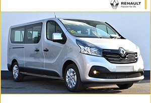 RENAULT TRAFIC car hire