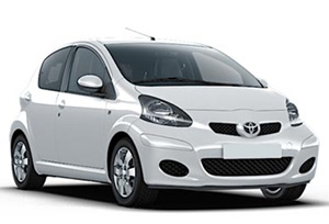 TOYOTA AYGO car hire