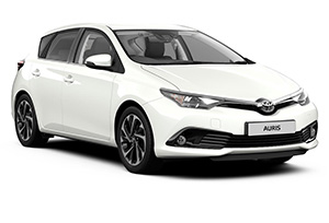 TOYOTA AURIS for rent