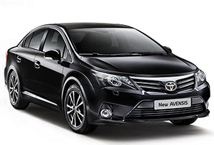 TOYOTA AVENSIS for rent
