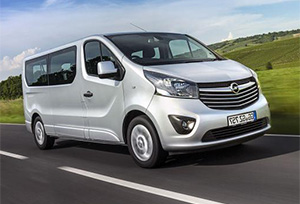 OPEL VIVARO car hire