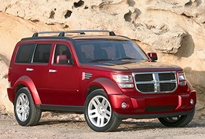 DODGE NITRO car hire